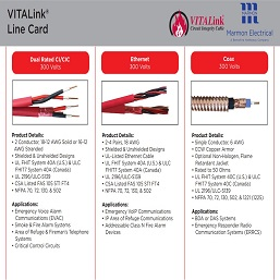 Resized - Fire Safety NEW VITALink Line Card