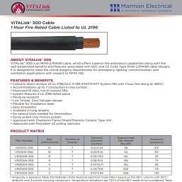 Resized - Transit VITALink 300 Sales Sheet